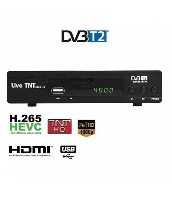 LIVE TNT 2000 DVB-T Full HD 1080P Receiver TV HDTV Box Terrestrial