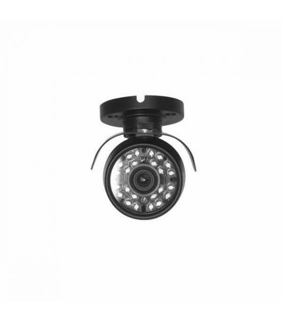 Camera de surveillance WP-500B AHD noire IR 24 LED IR CUT - Couleur 700TVL métal