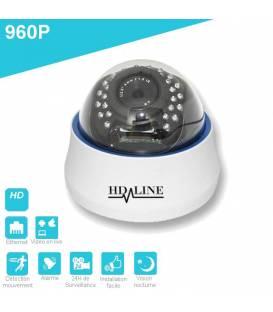 Caméra IP Dôme IP-1200DC Vidéosurveillance 960P 21 LED IR CUT métal Waterproof