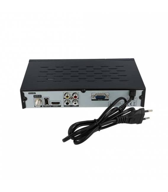 NOKTA DIGITAL eco S10 HD- Démodulateur satellite chaines HD FTA DVB-S2 HDMI USB PVR