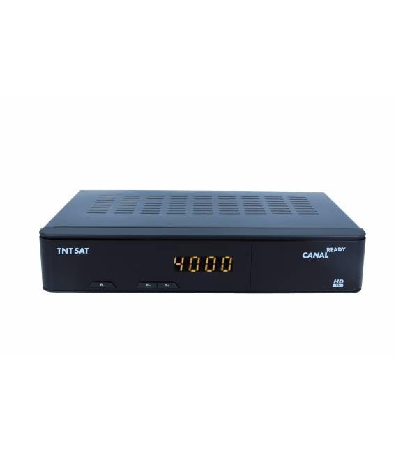 Récepteur satellite HD + Carte TNTSAT (Astra 19,2°) 220V/12V
