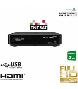 HUMAX TN8000HD + 1 TELECOMMANDE EXTRA