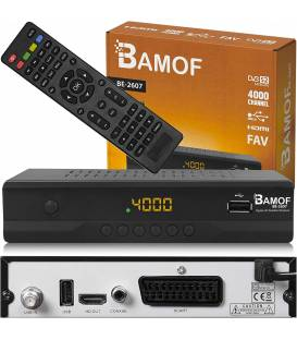 Bamof BE-2607 démodulateur satellite HD