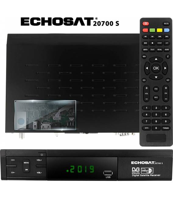 Echosat 20700 HD Démodulateur satellite FTA HD
