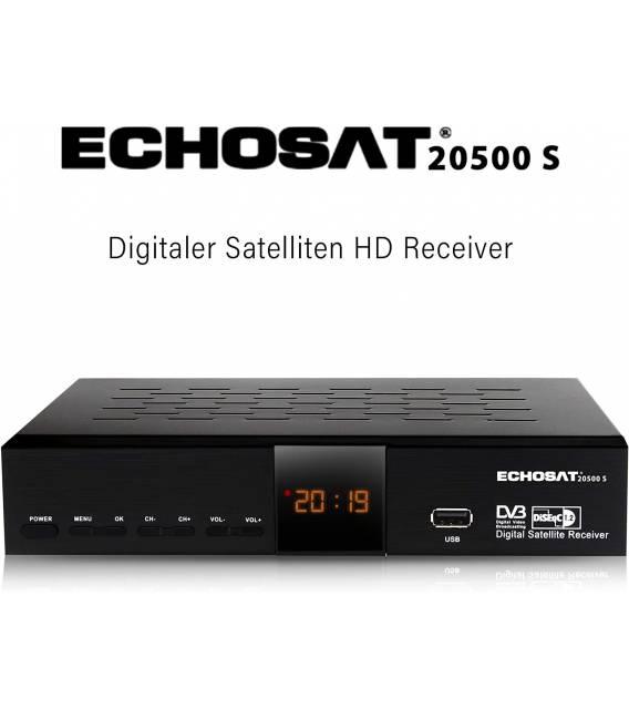 Echosat 20500 HD - Démodulateur satellite chaines HD FTA DVB-S2 HDMI USB PVR