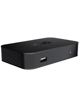 MAG420w1 TV box / Bluetooth receiver / Multimedia player / Device connected to the Internet / Can be connected to IPTV /
