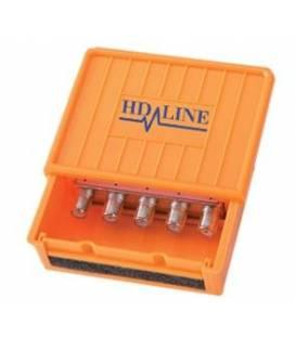 HD-LINE DISEQC PRO 4 IN 1 4 SATELLITES 1 SORTIE HQ