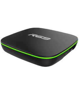 R69 Allwinner H3 Android Tv Box 7.1, 2GB DDR4, 16GB eMMC Touchpad Four cables 64bit Cortex-A53, WI-Fi 2.4Ghz, 3D, 4K HD