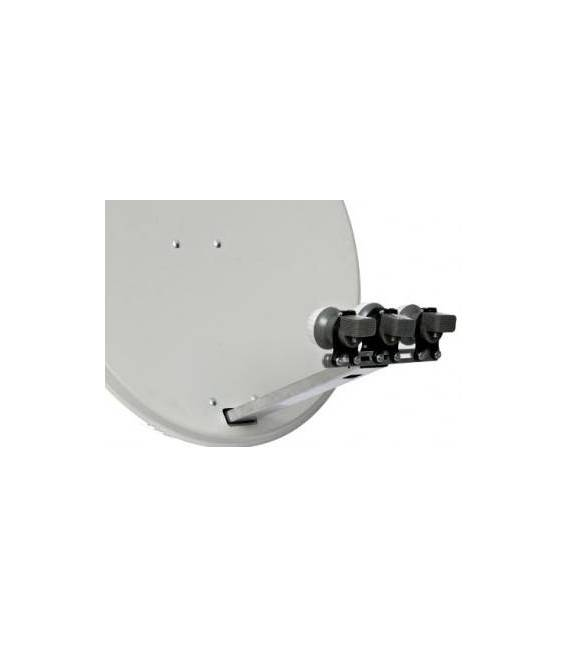 Hdline-Fixation Support 3 Lnbs - Relier Jusqu A 3 Tetes 7°13°19°