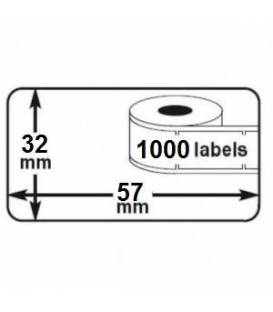 100 rolls seiko DYMO 11354 compatible labels writer roll 57mm x 32mm